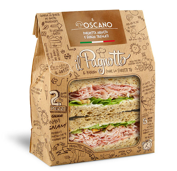 PAGNOTTO IL TOSCANO 160GR PARMA IS